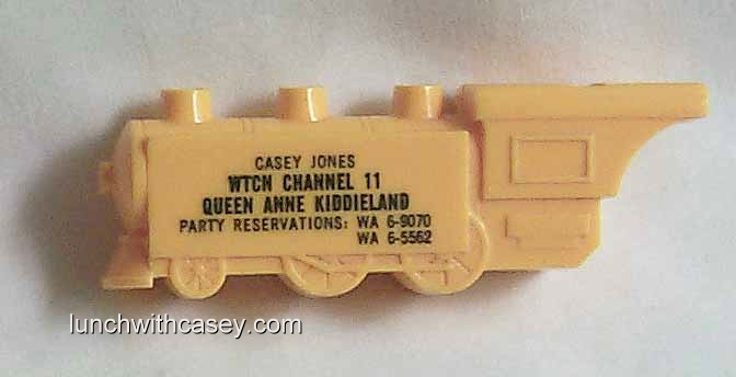 Casey Jones Train Whistles – Lunch With Casey