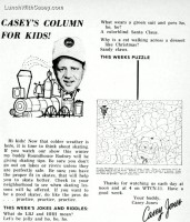 Casey's Column for Kids! – TV Digest, December 14, 1968