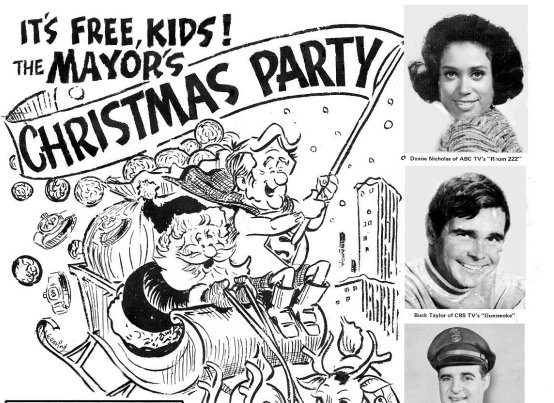The Mayor's Christmas Party 1971