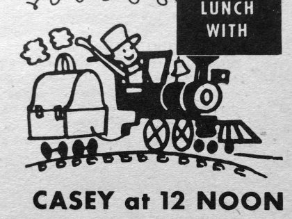 Lunch With Casey in TV Guide 1961