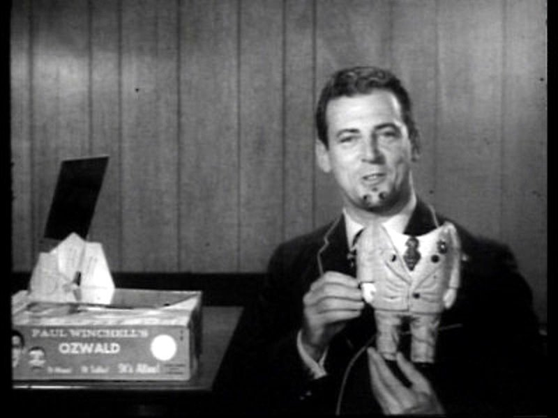 Paul Winchell in an Ozwald TV commercial